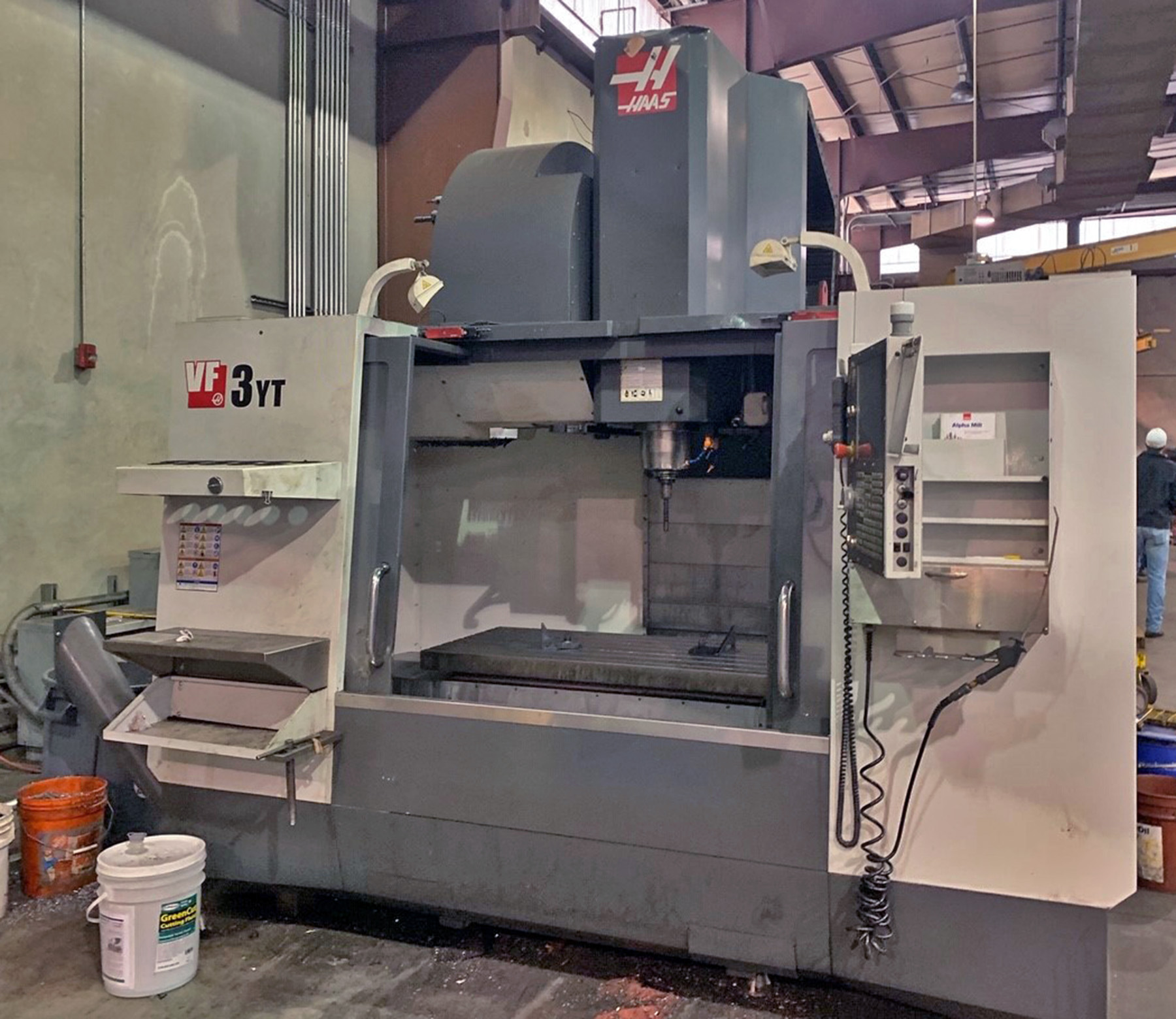 USED, HAAS VF-3YT/50 CNC VERTICAL MACHINING CENTER