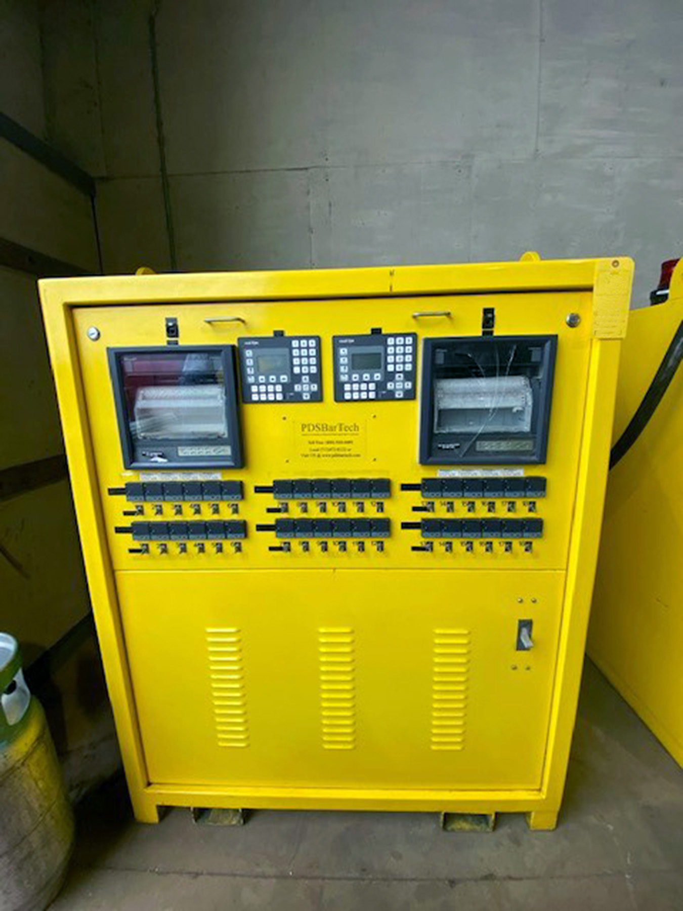 USED, PDS BARTECH MODEL PCE-3630S/2 200 AMP PRE/POST WELD HEAT TREAT SYSTEM