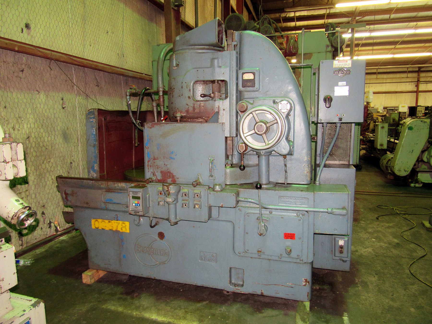 USED, BLANCHARD NO. 18 ROTARY SURFACE GRINDER