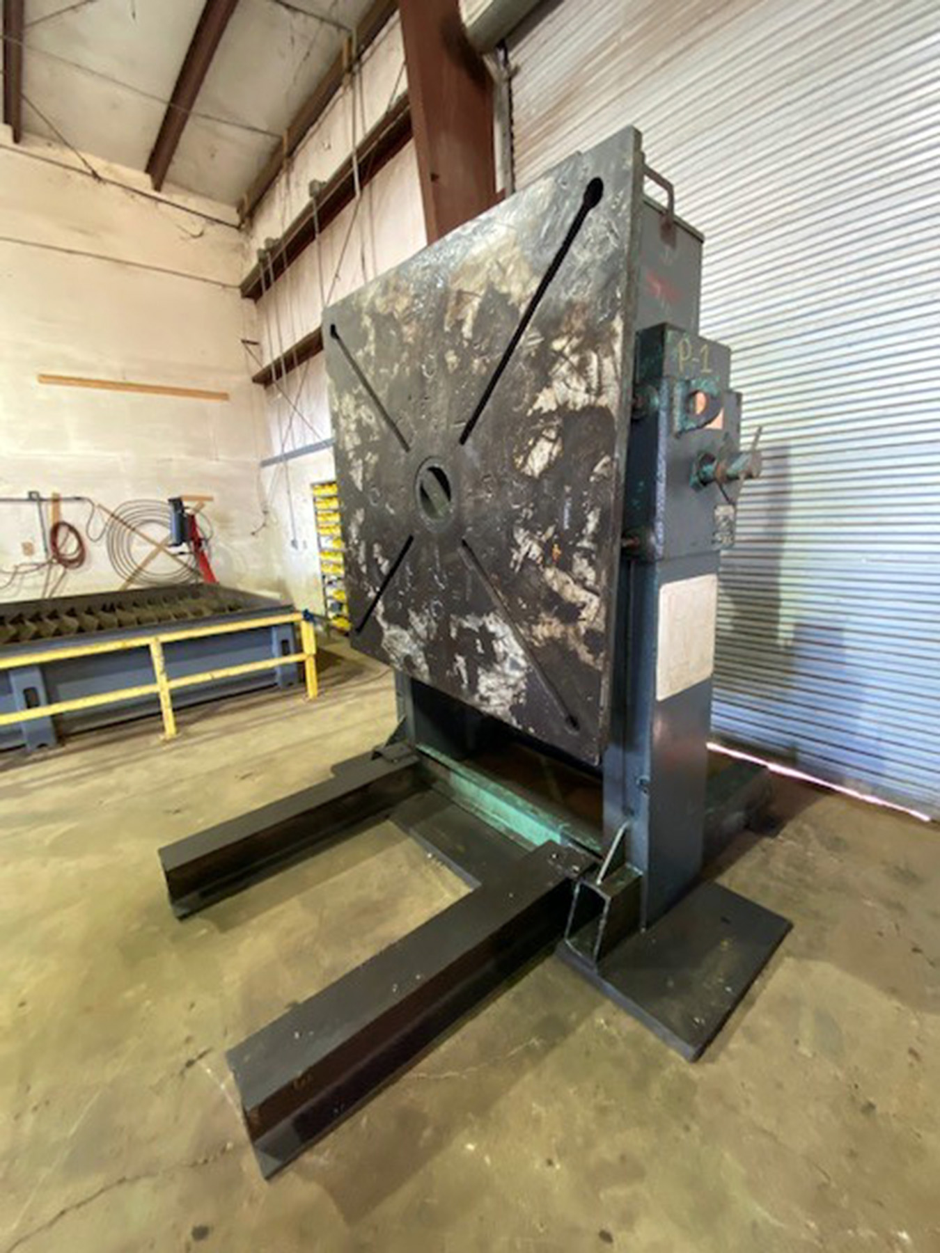 USED, 24,000 LB. RANSOME MODEL 7-H HEADSTOCK WELDING POSITIONER