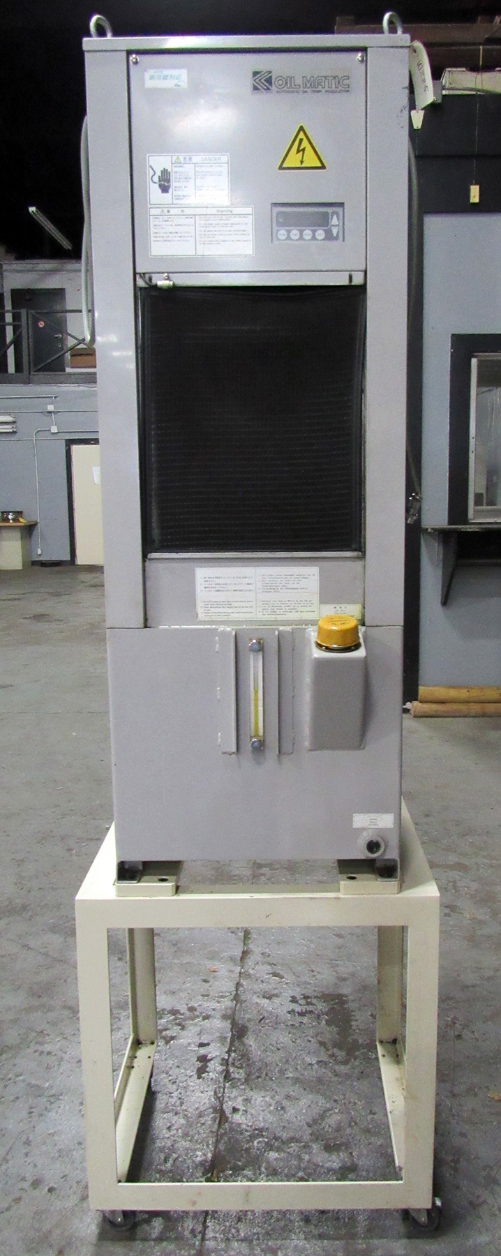 USED, KANTO SEIKI MODEL MPSB-07-N AUTOMATIC OIL TEMPERATURE REGULATION UNIT (OIL CHILLER)