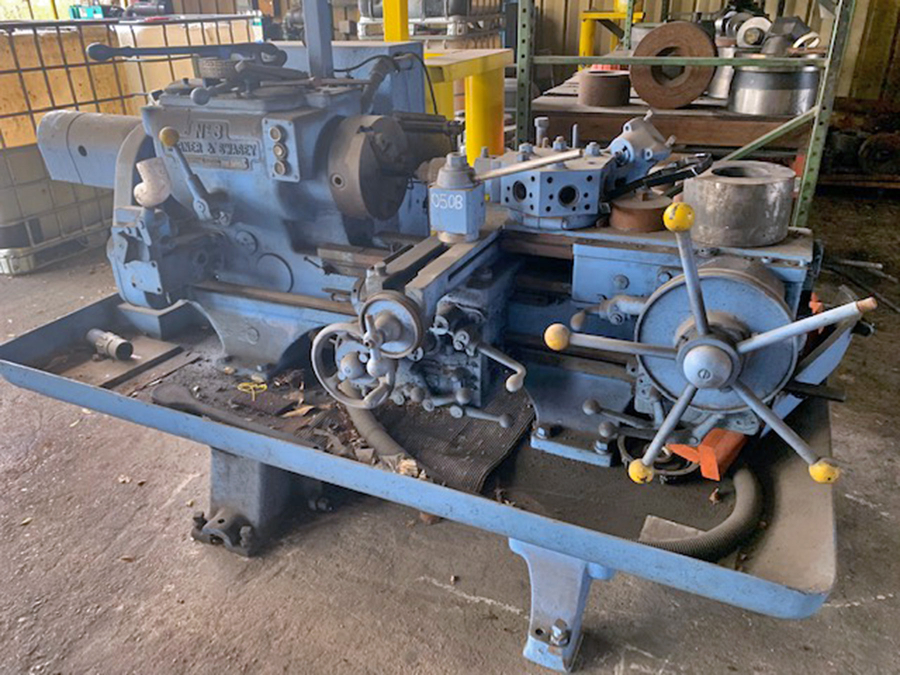 USED, WARNER & SWASEY NO. 3 RAM TYPE TURRET LATHE