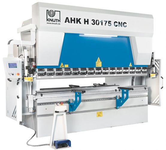 "KNUTH MODEL ""AHK H 30175 CNC"" HYDRAULIC PRESS BRAKE"