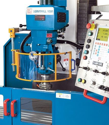 KNUTH SERVOMILL 1000 SERVOCONVENTIONAL MILLING MACHINE