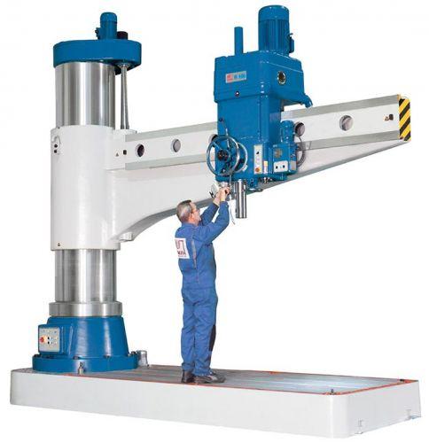 KNUTH R-V RADIAL ARM DRILLING MACHINE