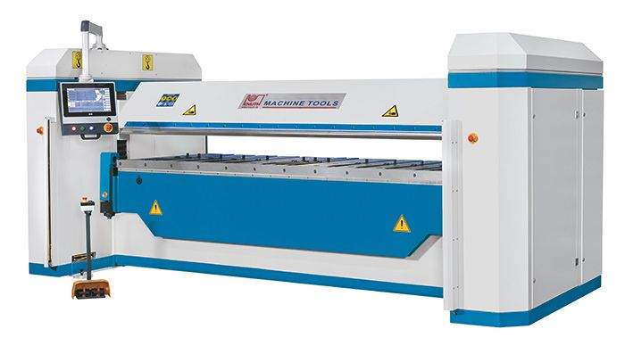 KNUTH MODEL HBM CNC HYDRAULIC FOLDING MACHINE