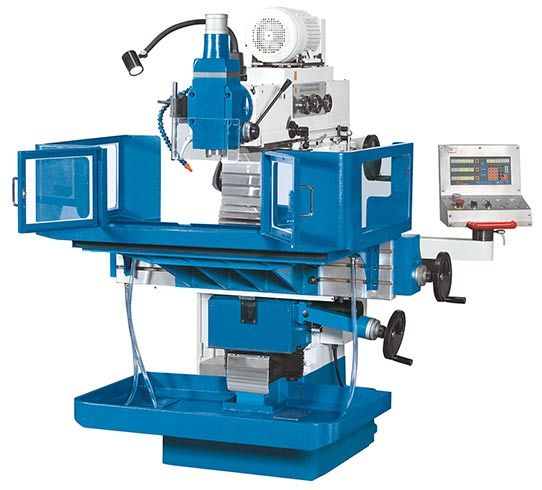 KNUTH MODEL FPK 4 - FPK 6 TOOL MILLING MACHINE