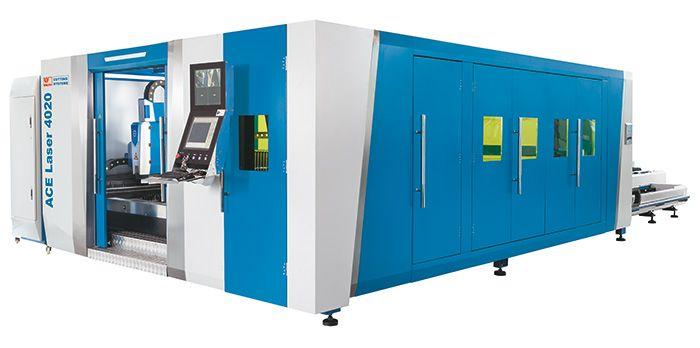 "4000 WATT KNUTH ""ACE LASER 4020 4.0 RS6"" CNC LASER CUTTING MACHINE"