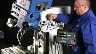 KNUTH MODEL VHF 1 UNIVERSAL MILLING MACHINE