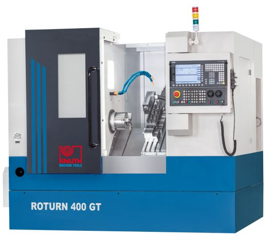 """KNUTH MODEL """"ROTURN 400 GT"""" CNC INCLINED BED LATHE"""