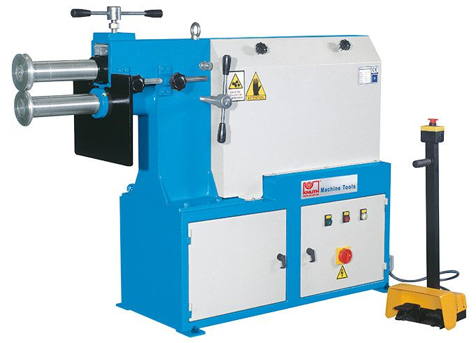 KNUTH MODEL KS 125 BEADING MACHINE