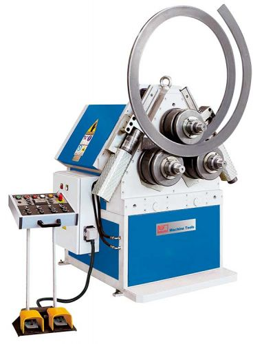 KNUTH MODEL KPB HYDRAULIC RING AND PROFILE BENDING MACHINE