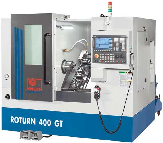 "KNUTH ""ROTURN 400GT"" CNC INCLINED BED LATHE"