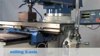 KNUTH MF 5 VP MULTI-PURPOSE MILLING MACHINE