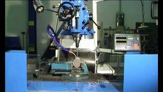 KNUTH MODEL VFM 4 VERTICAL MILLING MACHINE
