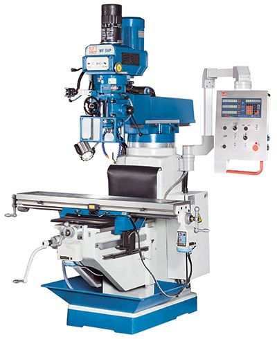 KNUTH MODEL MF 5 VP MULTI-PURPOSE MILLING MACHINE