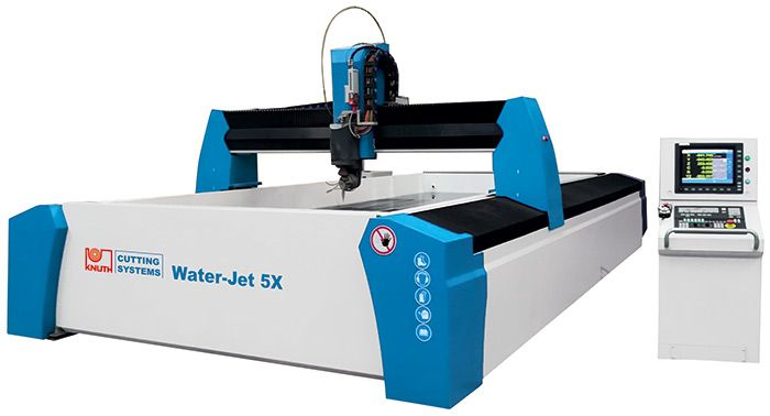"KNUTH MODEL ""Water-Jet 5X"" WATERJET CUTTING MACHINE"