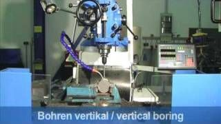 "KNUTH ""MF 1 VP"" MULTI-PURPOSE MILLING MACHINE"
