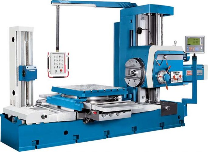 KNUTH MODEL BO LARGE CAPACITY DRILLING MACHINE