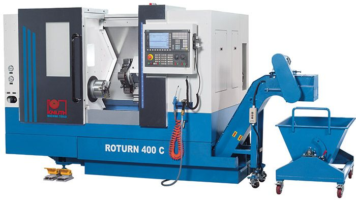 "KNUTH ""Roturn 400 C"" CNC INCLINED BED LATHE"
