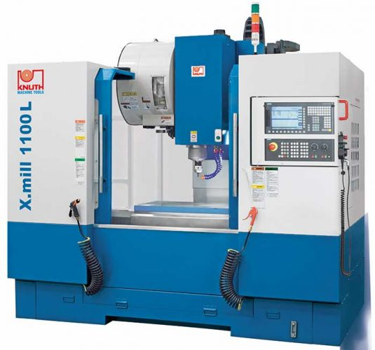 "KNUTH ""X.MILL 1100 L"" CNC VERTICAL MACHINING CENTER"