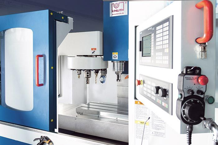 "KNUTH MODEL ""X.MILL 640 Eco SI"" CNC VERTICAL MACHINING CENTER"