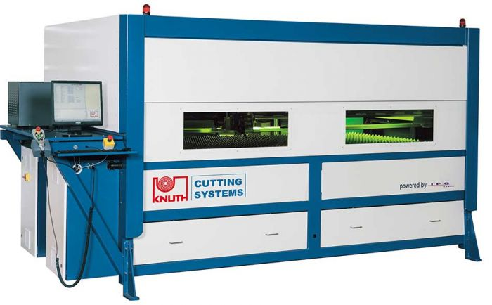 KNUTH LASER-JET 2512 FL 2000 LASER CUTTING MACHINE