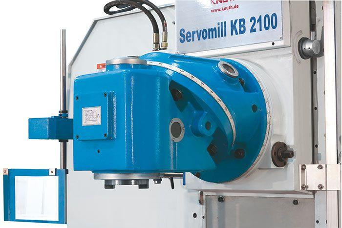 KNUTH SERVOMILL KB 2100 BED TYPE MILLING MACHINE