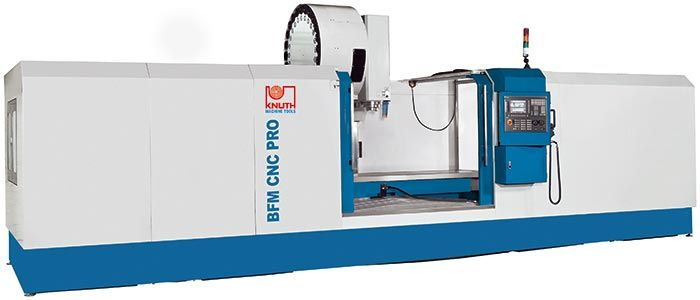 KNUTH MODEL BFM CNC VERTICAL MACHINING CENTER