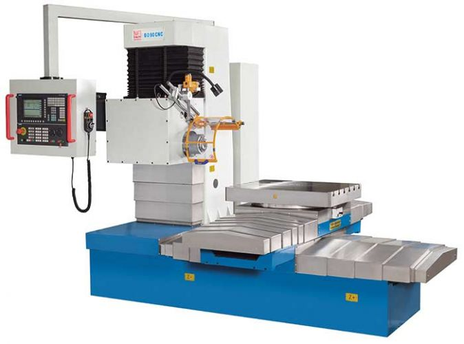 KNUTH BO 90 CNC DRILLING MACHINE