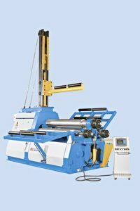 KNUTH MODEL RBM NC HYDRAULIC 4-ROLLER ROLL BENDING MACHINE