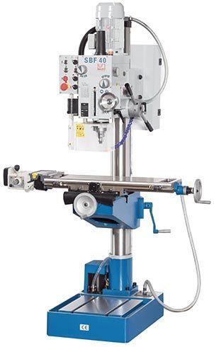 KNUTH MODEL SBF 40 TV 1000 DRILL PRESS/MILLING MACHINE