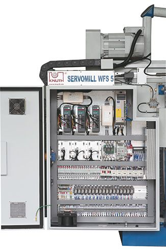 KNUTH SERVOMILL WFS 5 SERVOCONVENTIONAL MILLING MACHINE