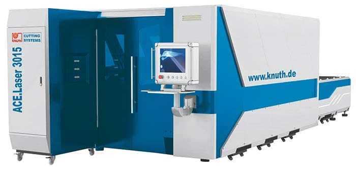 KNUTH ACE LASER 3015 2.0 LASER CUTTING MACHINE