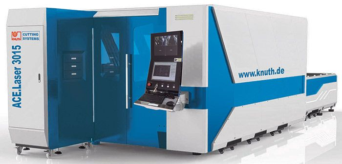 KNUTH ACE LASER CNC LASER CUTTING MACHINE