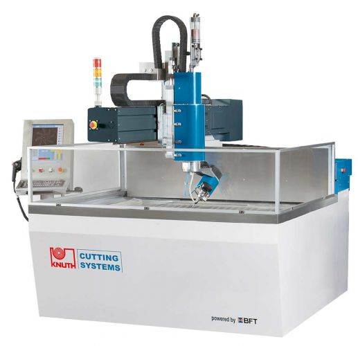 KNUTH HYDRO-JET VARIO 1313 WATERJET CUTTING MACHINE