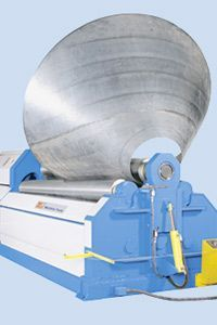KNUTH RBM HYDRAULIC 4-ROLLER ROLL BENDING MACHINE