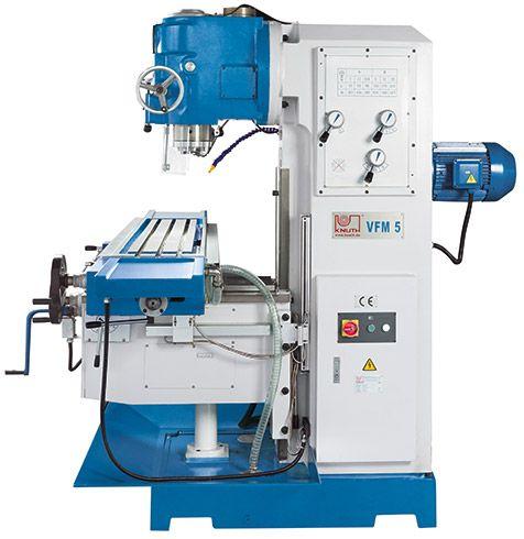KNUTH MODEL VFM 5 VERTICAL MILLING MACHINE