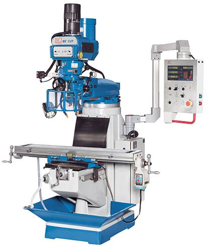 KNUTH MODEL MF 1 VP MULTI-PURPOSE MILLING MACHINE