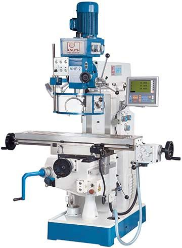 KNUTH MODEL VHF 2 UNIVERSAL MILLING MACHINE