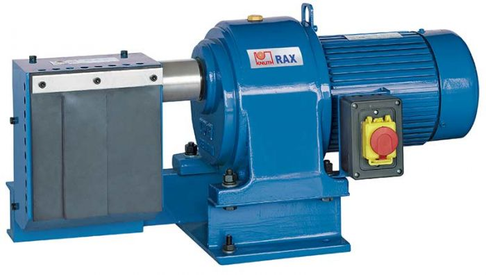 KNUTH MODEL RAX TUBE NOTCHING MACHINE