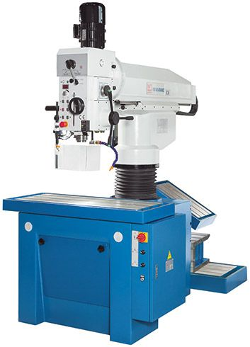 KNUTH MODEL KSR 40 ADVANCE RADIAL DRILL PRESS