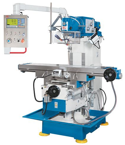 KNUTH MODEL UWF 1.2 UNIVERSAL MILLING MACHINE