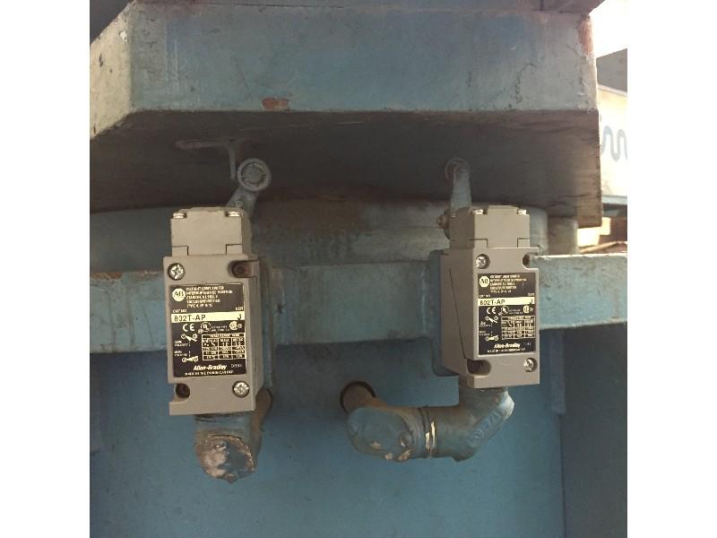 CWP Three Arm Coil Turnrstile 20,000 lbs. X 24.