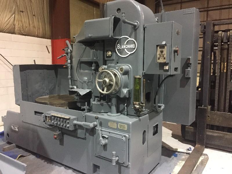 Blanchard #20K-36, rotary grinder, 36 Magnetic chuck, 50 HP,