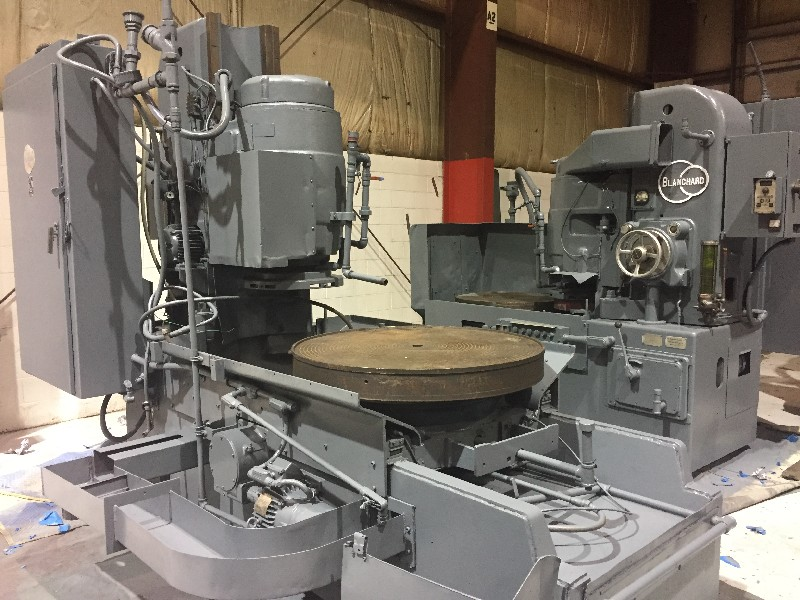 Blanchard #22D-42 rotary grinder, 42 Magnetic chuck, 50 HP,