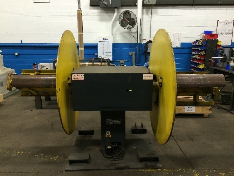 Coe Press Double End  Pull-Off uncoiler 6,000 Lbs. x 18 Wide