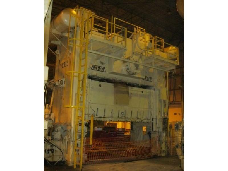 1600 ton Verson SE4-1600-180-72t SSDC
