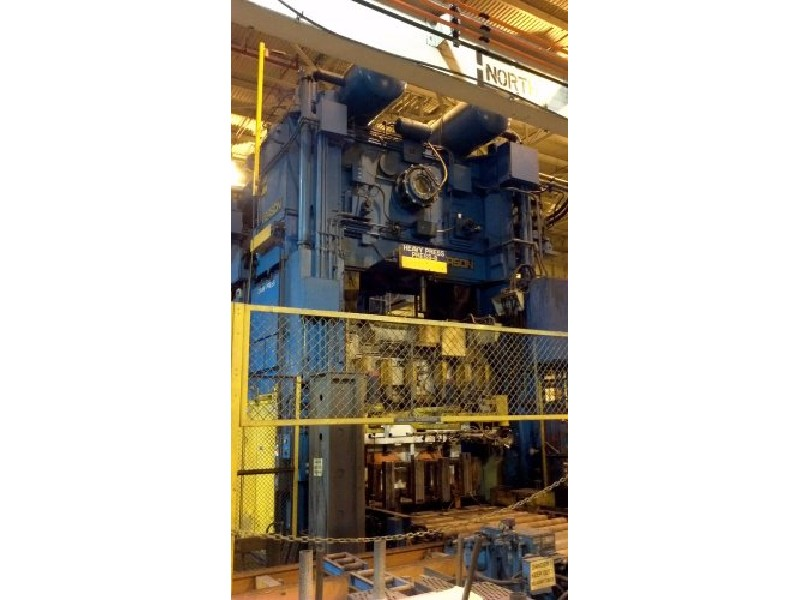 800 ton Verson LE4-800-120-60t