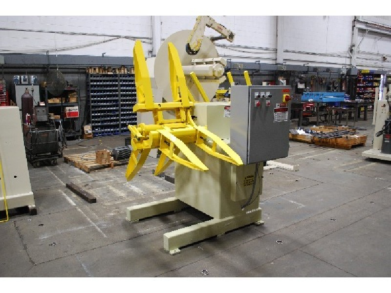 Feed Lease Motrized Coil Reel Uncoiler
